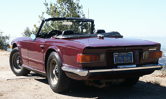 1970 tr6 for sale
